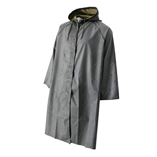 Baosity Rubber Raincoat Labor Protection Raincoat Thicken Canvas Poncho Cloth by Baosity (Image #2)