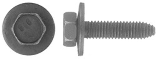50 6 - 1.00 X 25mm Metric Type CA Body Bolts 10mm Hex (Bolt Body Washer Head)
