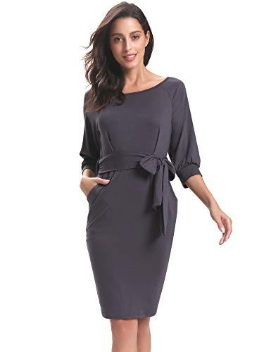 de para L Vestido mujer noche Elegante PwvqB5
