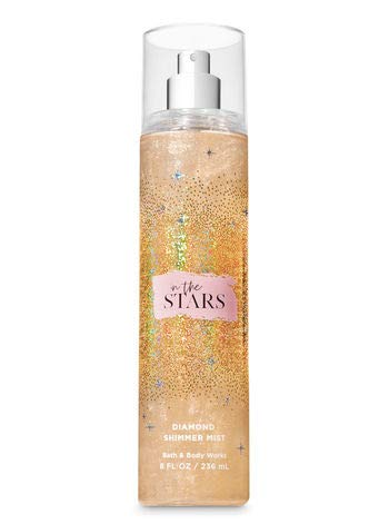 Bath and Body Works IN THE STARS Diamond Shimmer Mist 8 Fluid Ounce (Limited Edition)
