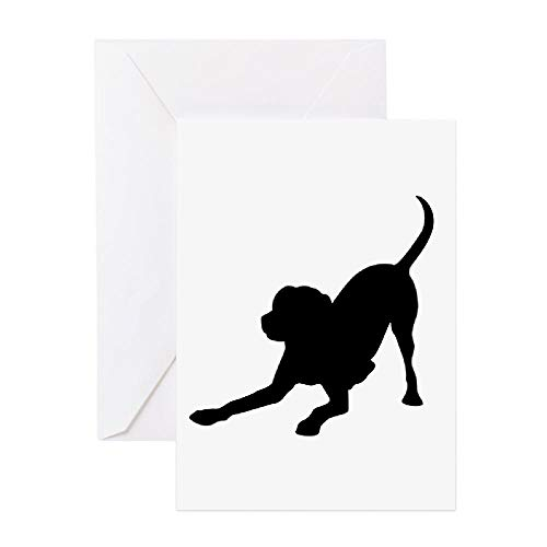 CafePress Lab 1C Greeting Cards Greeting Card (20-pack), Note Card with Blank Inside, Birthday Card Glossy ()