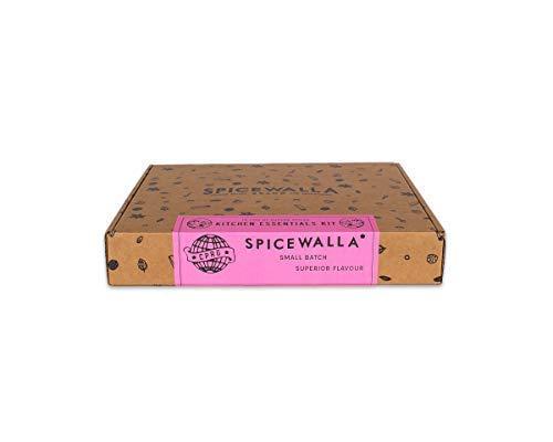 Spicewalla Kitchen Essentials Spices and Seasonings Set | 18 Spices Gift Set | Kitchen Starter Set Bulk Spice Kit Salted Salad