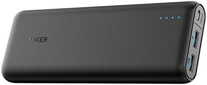 【第2世代】 Anker PowerCore Speed 20000 (20000mAh 大容量 モバイルバッテリー)【Quick Charge 3.0入出力対応 】 iPhone / iPad / Android各種対応