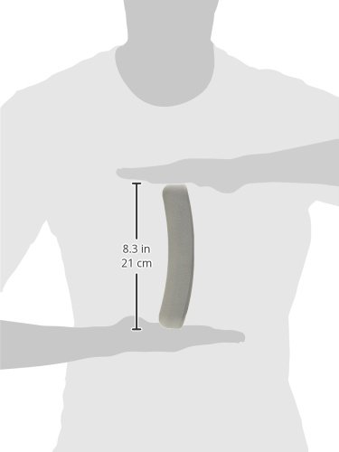 PCP Underarm Crutch Pad Replacement, Cushion Tops, Comfort Foam Slip on Top Grip Support, Grey, 1 Pair by PCP (Image #8)
