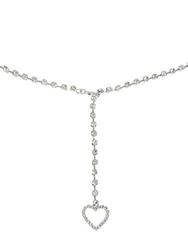 Womens Belly Chain Austrian Crystal Rhinestone 39