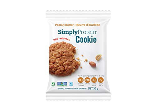 Simply Protein Cookie Peanut Butter, 50 Grams