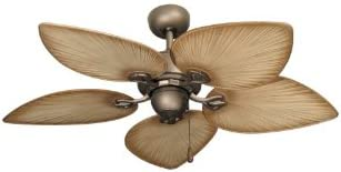 Gulf Coast Fans 42-Inch Bombay Tropical Ceiling Fan