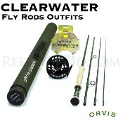 Orvis Clearwater 7-weight, 9'6'' Fly Rod Outfit