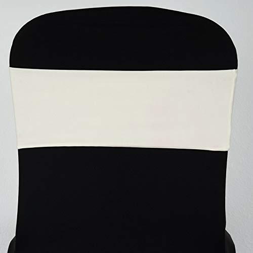 Mikash Spandex Chair Sashes Bows Ties Wedding Reception Decorations Dinner Wholesale | Model WDDNGDCRTN - 4603 | 50 pcs