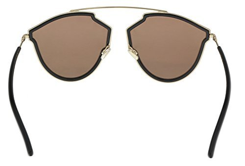 BROWN GREY Soleil Lunettes unisexe RISE SO BLACK Dior REAL DIOR de fqq1Fw8