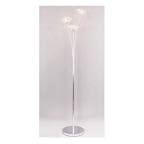 SGKJJ Floor Lamp - Dandelion Crystal Floor Lamp IKEA Creative Living Room Bedroom Bedside Table Lamp -185 Floor lamp (Size : 3 Heads)