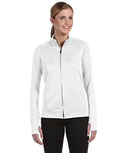 Alo Ladies' Lightweight Jacket>XL WHITE (Alo Womens Shell)