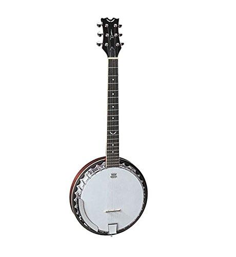 Dean Backwoods 6 Banjo - Natural - Dean Backwoods 6 String Banjo Shopping Results