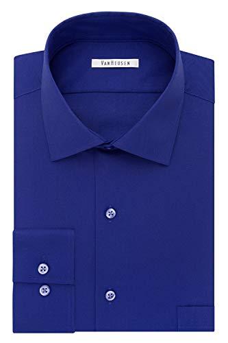 Van Heusen Men's Dress Shirt Flex Regular Fit Solid 1