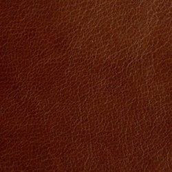 Circle Golf Leather Bag Tag , Mocha