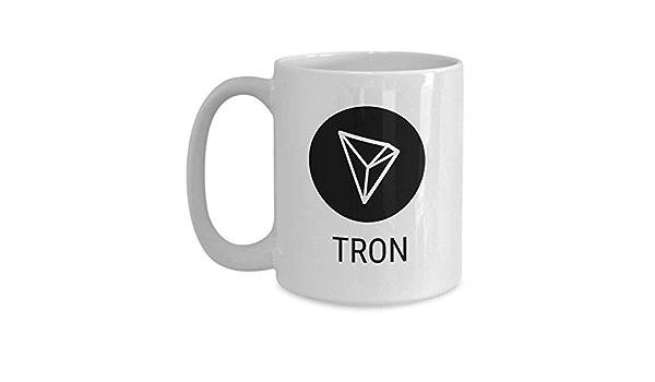 Official Tron Cryptocurrency Big Mug Acrylic Coffee Holder ...