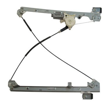 TYC 660198 Chevrolet Silverado Front Driver Side Replacement Power Window Regulator Assembly with Motor