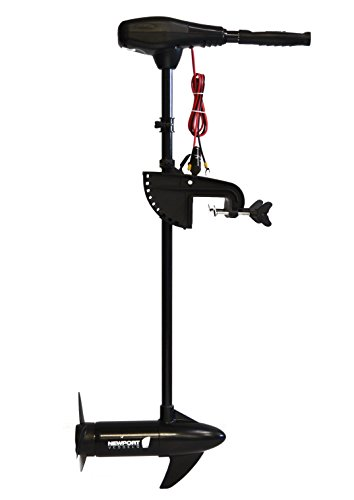 Newport Vessels NV-Series 86 lb. Thrust Saltwater Transom Mounted Electric Trolling Motor with 36