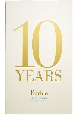 10 Years: The Barbie Fashion Model Collection (Robert Best Barbie Calendar)
