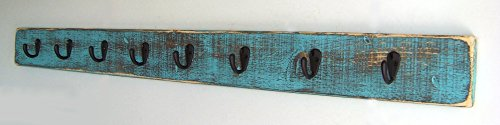 Coat Rack by Out Back Craft Shack: Wall Mounted With Rustic Decor Finish; Custom orders welcome!