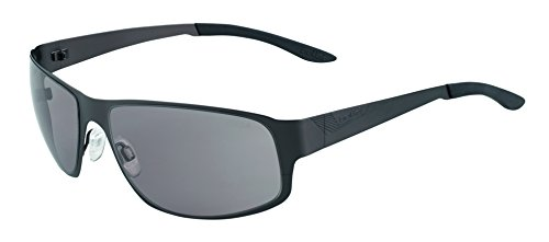 Bolle Auckland Sunglasses Matte Gun, Smoke by Bolle (Image #1)