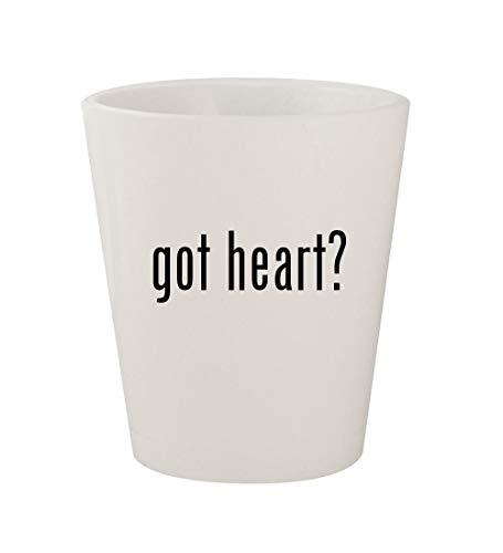 got heart? - Ceramic White 1.5oz Shot Glass