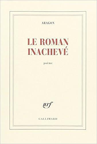 Livre gratuits en ligne Le Roman inachevé epub, pdf