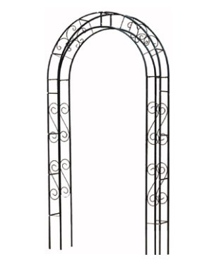 DAIDO 立体構造で安定感のあるアーチ アーチフレーム(幅118cm、高さ220cm)TKRA-M120 B01M284WZN