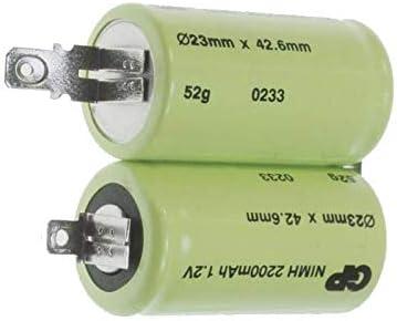 Batería de.2 Ni-MH referencia: 407130582 para aspiradora limpiador a Electrolux: Amazon.es: Grandes electrodomésticos