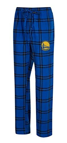 (Concepts Sport Golden State Warriors Men's Pajama Pants Plaid Pajama Bottoms (X-Large))