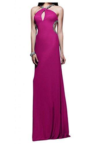 Dimensioni benda Chiffon Rueckenfrei TOSKANA sposa per una serata vestimento Bete un'ampia Party ball vestimento viola 34