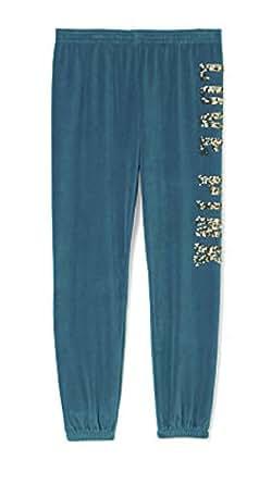 Victoria's Secret Velour Skinny Sweat Pants X-Small Teal Blue