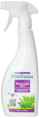 PineFauna Skin and Coat Care Spray for Dogs, 500-Ml