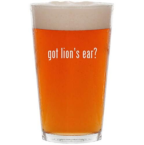 got lion's ear? - 16oz All Purpose Pint Beer Glass