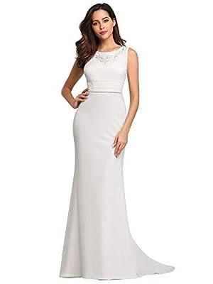 Ever-Pretty Women's Sleeveless Bodycon Mermaid Dress Floor Length Evening Dress 7804