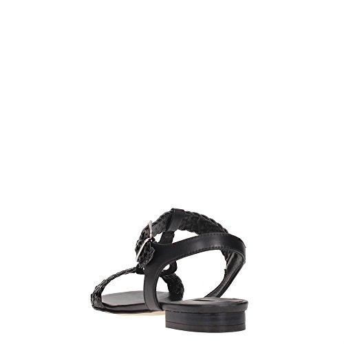DonnaPiù D52808EUG7.TR01 Sandalia Mujer Black