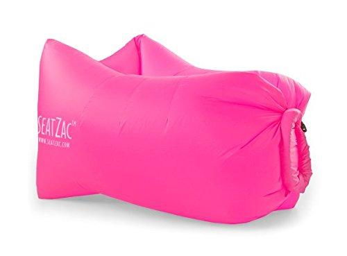 Rosa Pouf SeatZac Candy Colore