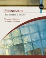 Study Guide for Baumol/Blinder's Economics: Principles and Policy, 11th