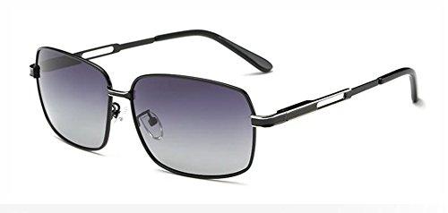 Lennon Boîte inspirées vintage retro cercle lunettes en rond soleil A de polarisées métallique Noire du style ftOp8an