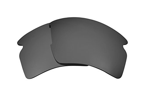 Best SEEK Replacement Lenses for Oakley FLAK 2.0 XL Silver Mirror by Seek Optics
