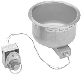 Wells SS-10TD Food Warmer top-mount built-in electric for 11-quart round insert