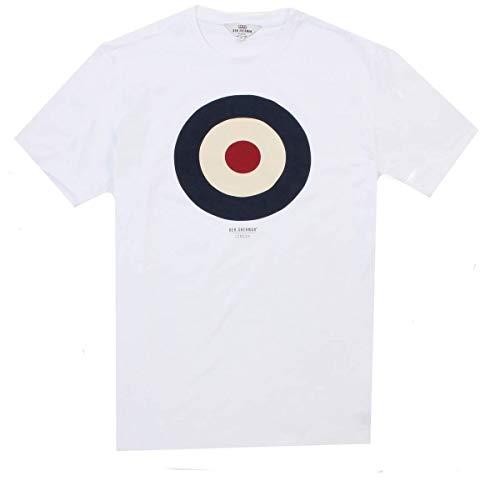 Ben Sherman MOD Target T-Shirt - 47812 White XL