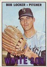 1967 Topps Regular (Baseball) Card# 338 Bob Locker of the Chicago White Sox VG (Chicago White Sox Collectible Locker)