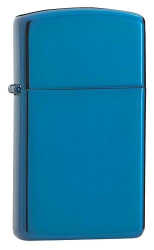 Zippo Slim Sapphire Pocket Lighter ()