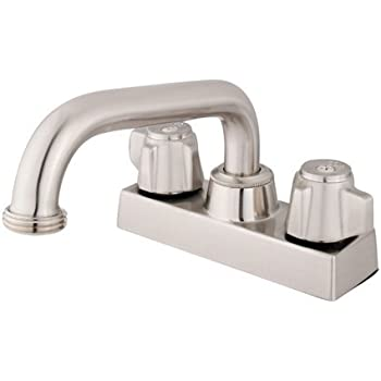 Kingston Brass Kb471sn Traditional 4 Quot Laundry Tray Faucet