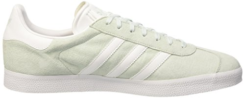 adidas Gazelle, Zapatillas Unisex Adulto Multicolor (Ice Mint/White/Gold Metalic)
