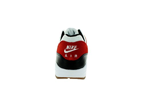 Nike Nike Air Max 1 Essential, Grey - Zapatillas de material sintético hombre White/Black/Gamma Orange
