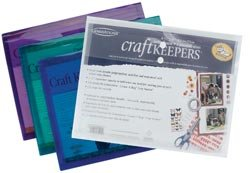 Bulk Buy: Generations Craft Keepers Snap Closure Envelope Assorted Colors 8.5''X11'' 85595 (10-Pack) by Generations