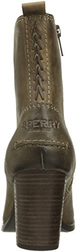 Grace Bootie Top Sperry Women's Beige Dasher Sider Ankle Hqxf6