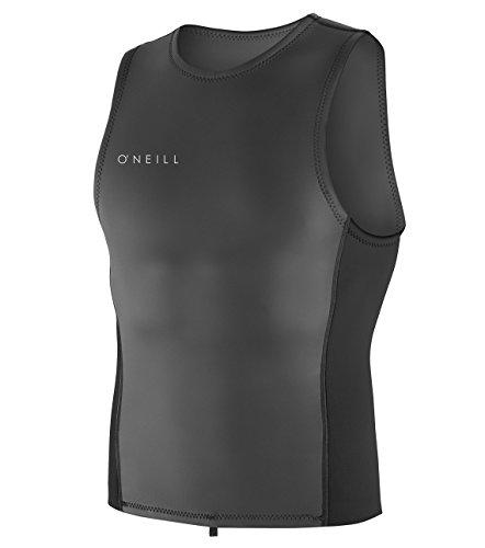 (O'Neill Men's Reactor-2 2mm Pull Over Vest, Black, Large)